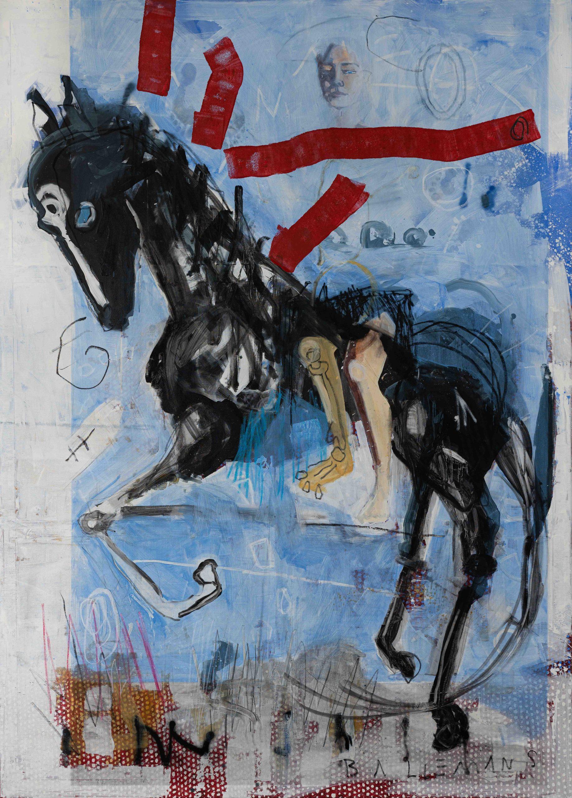 Niels Ballemans - Kim op paard