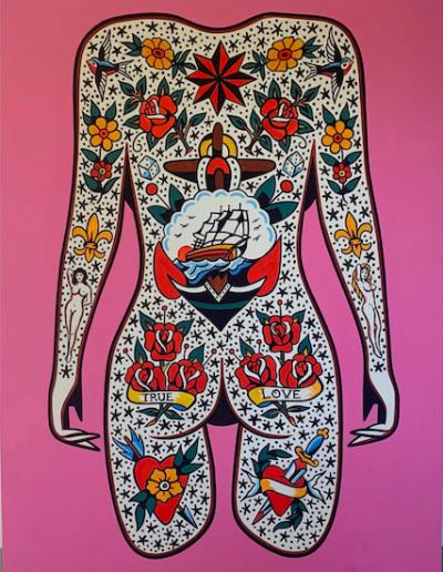 Robbert Aalbers - Bodysuit Pink