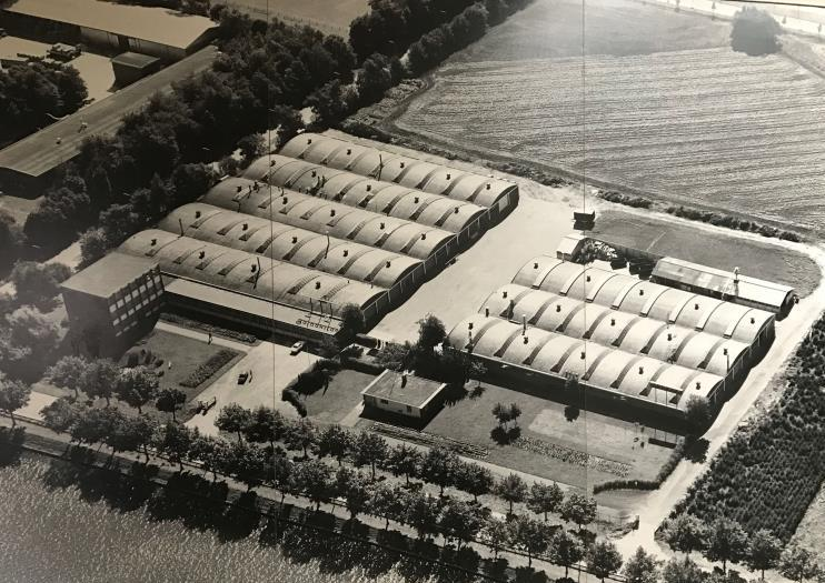 Galvanitas fabriek luchtfoto
